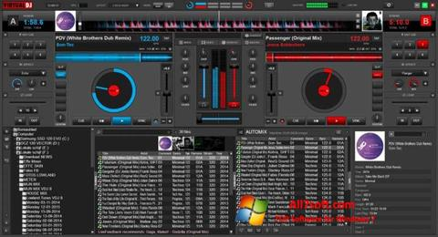 Screenshot Virtual DJ Windows 7