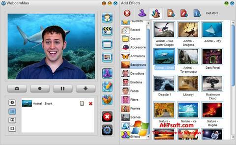 Screenshot WebcamMax Windows 7