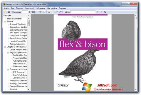 Screenshot Sumatra PDF Windows 7