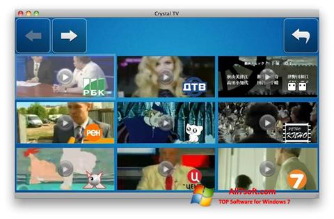 Screenshot Crystal TV Windows 7