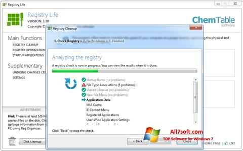 Screenshot Registry Life Windows 7