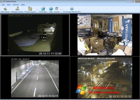 Screenshot IP Camera Viewer Windows 7