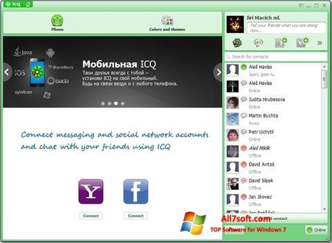 Screenshot ICQ Windows 7