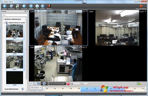 Screenshot Ivideon Server Windows 7
