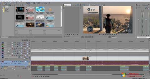 Screenshot Sony Vegas Pro Windows 7