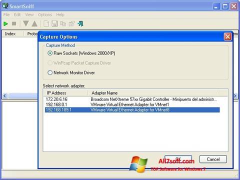 Screenshot SmartSniff Windows 7