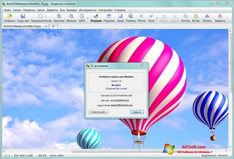 Screenshot FastStone Capture Windows 7