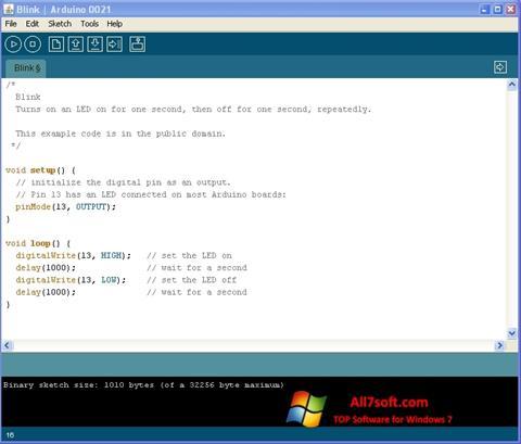 Screenshot Arduino Windows 7