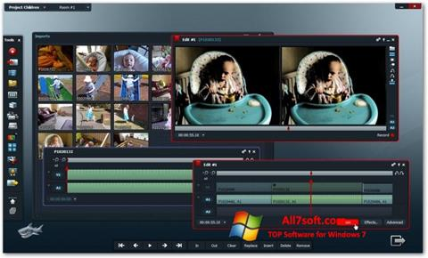Screenshot Lightworks Windows 7