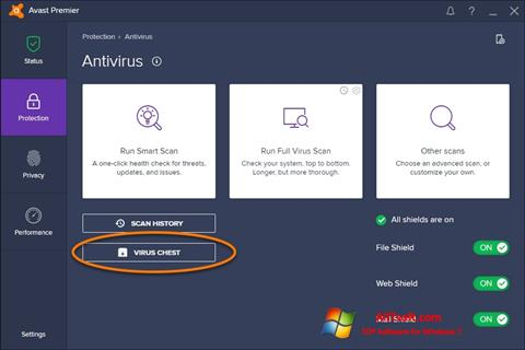 Screenshot Avast Windows 7