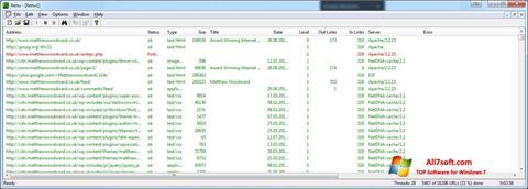 Screenshot Xenu Windows 7