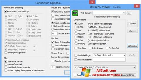 Screenshot UltraVNC Windows 7