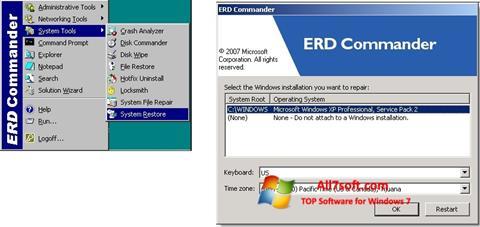 Screenshot ERD Commander Windows 7