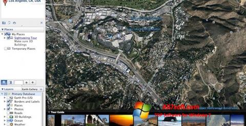 Screenshot Google Earth Pro Windows 7