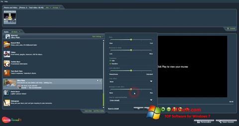 Screenshot muvee Reveal Windows 7