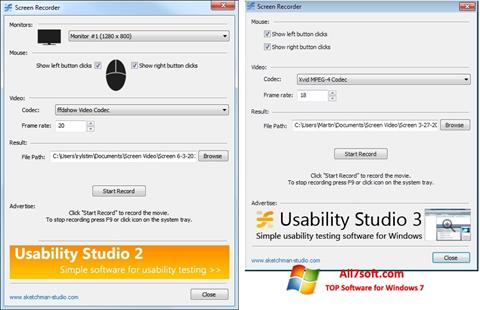 Screenshot Rylstim Screen Recorder Windows 7
